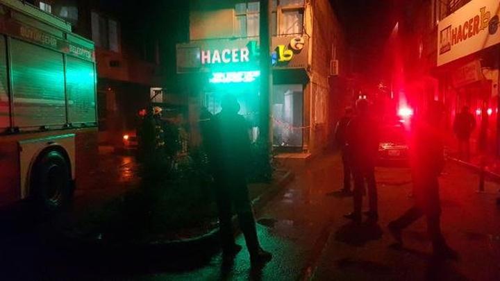 Kocaeli'de dükkanın camına 'benzin' döküp, ateşe verdiler