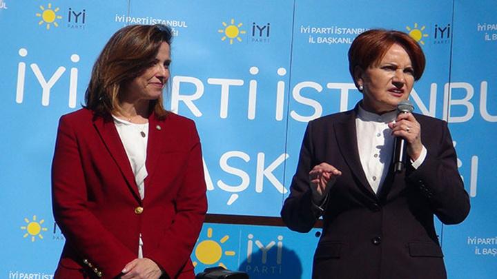 İYİParti Genel Başkanı Meral Akşener Fatih'te kadınlara seslendi