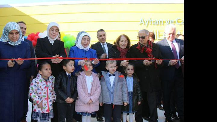 """Semiha Yıldırım, """"81 İlde 81 Anaokulu"""" projesi kapsamında Yalova'da anaokulu açılışına katıldı"""