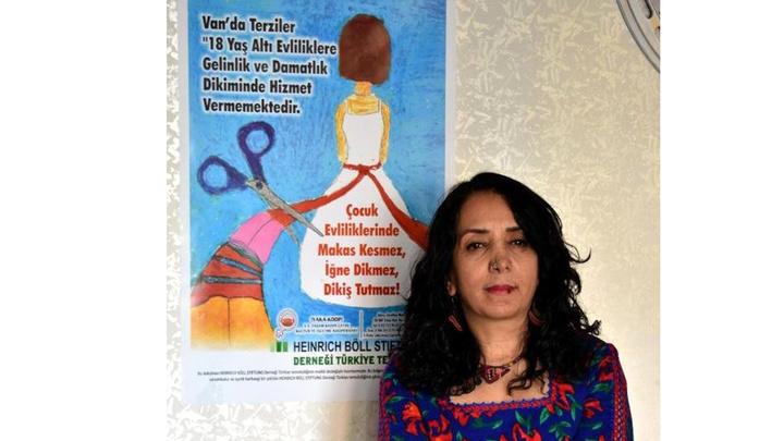 Van'da 'Çocuk Yaşta Evliliklere Son' projesi esnafın katılımlarıyla devam ediyor