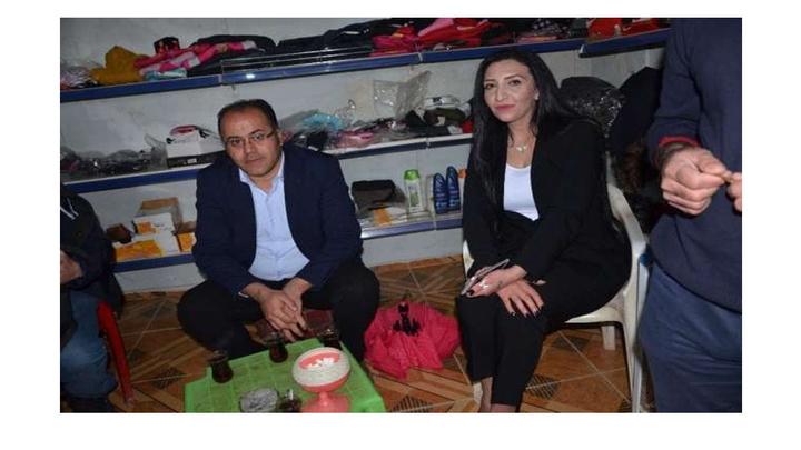 Şırnak'ın ilk kadın muhtar adayı Hamiyet Ağma Çetin, görevi basından devralmaya hazır