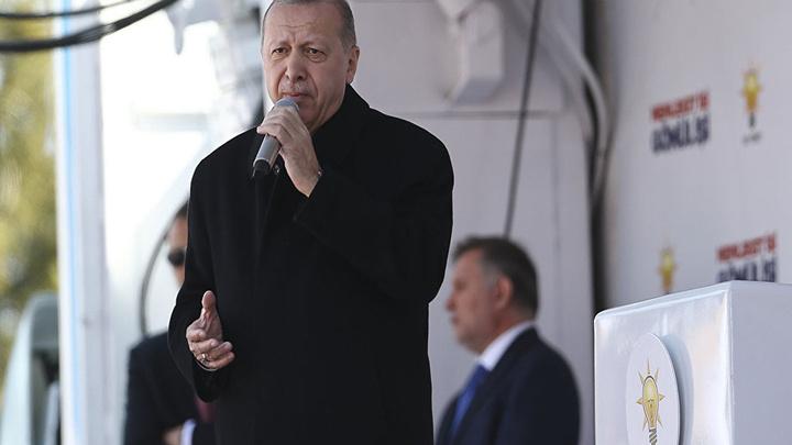 Cumhurbaşkanı Erdoğan, miting için Elazığ'a geldi