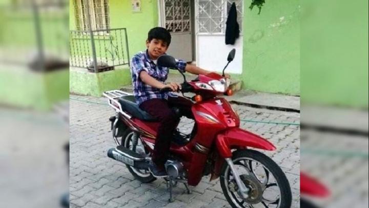 Manisa'da motosiklet kazasında liseli Muammer hayatını kaybetti
