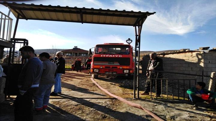 Adıyaman'da yangın: 4 kişi dumandan etkilendi