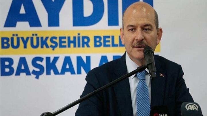 İçişleri Bakanı Süleyman Soylu Aydın'da muhtarlarla ve STK temsilcileriyle bir araya geldi