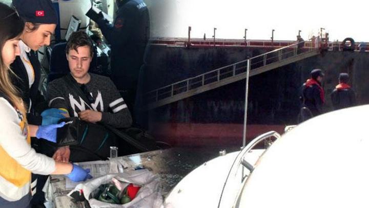 Sahil Güvenlik ekipleri, gemide mide kanaması geçiren  Ukraynalı denizci için harekete geçti