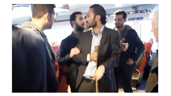 izmir'de baltayla vapura giren şahıs savcılık talimatıyla serbest bırakıldı