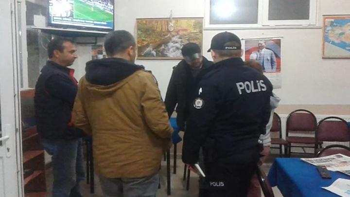Tekirdağ'da kahvehanede çay içtiği sırada sopalı saldırıya uğradı