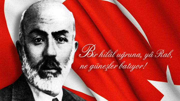 Başkentte, İstiklal Şairi Mehmet Akif Ersoy anıldı
