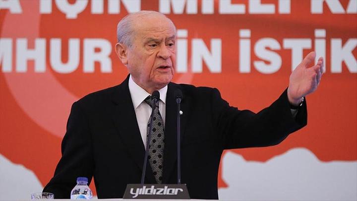 MHP Genel Başkanı Devlet Bahçeli Yozgat'ta partililere seslendi