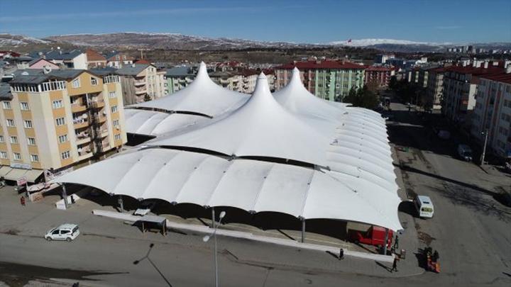 Sivas'ta Cumartesi Pazarı hizmete açılıyor