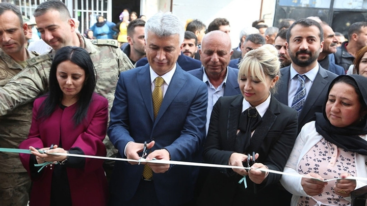 Cizre'de Nuh Mahallesi'nde Aile Sağlığı Merkezi açıldı