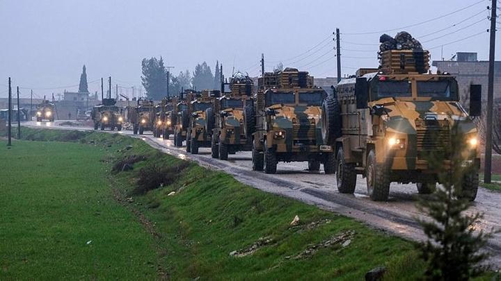 TSK ve Rus askeri Tel Rıfat'ta ortak devriye hazırlığında