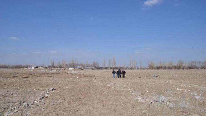 Iğdır'a yapılması planlanan millet bahçesinin yerinde gereken incelemeler yapıldı