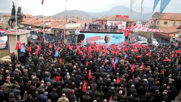 CHP Lideri Kemal Kılıçdaroğlu Malatya'da halka seslendi