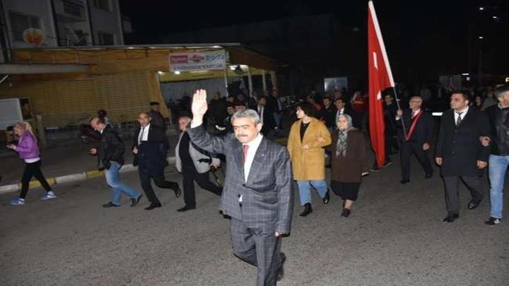 Cumhur İttifakı ilk büyük yürüyüşünü Nazilli'de gerçekleştirdi