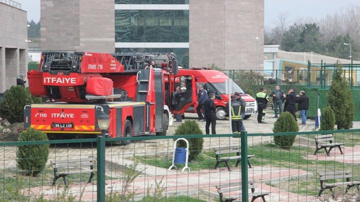 Samsun'da Ruh Sağlığı ve Hastalıkları Hastanesi'nde korkutan yangın