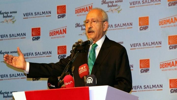 CHP Genel Başkanı Kemal Kılıçdaroğlu Yalova'da muhtarlar ve STK temsilcileri ile bir araya geldi