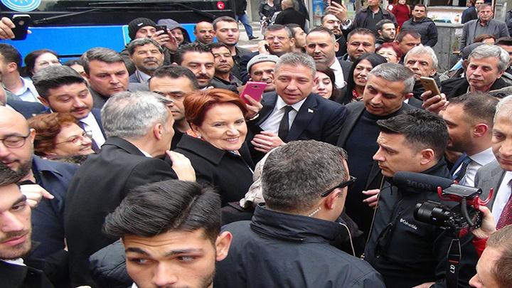 İYİ Parti Lideri Meral Akşener, Manisa'da