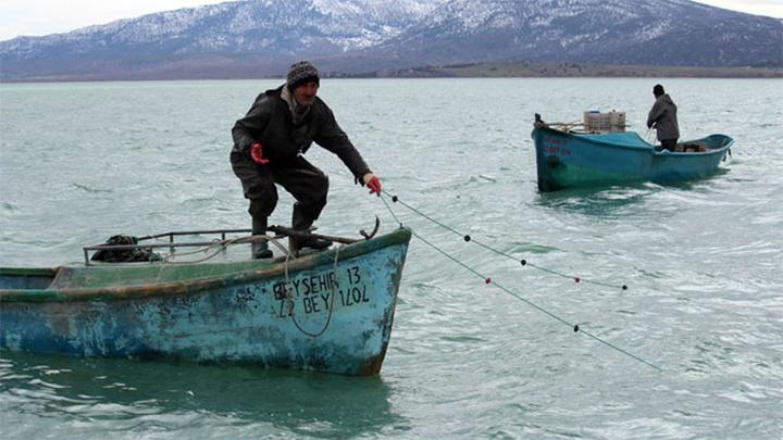 Beyşehir Gölü'nde av yasağı