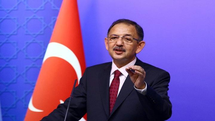 Cumhur İttifakı AK Parti Ankara Adayı Mehmet Özhaseki, AK Parti Genel Merkezi'nde basın toplantısı düzenledi
