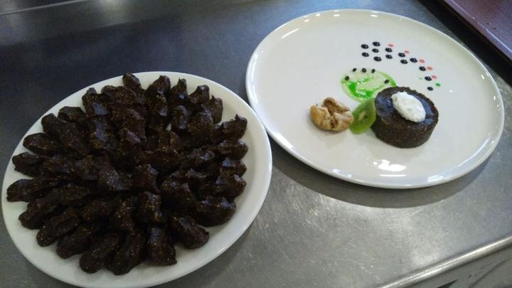 Gastronomi kenti Hatay'dan pratik tatlı 'helva hattuş'