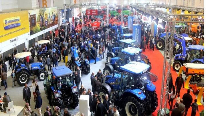 Türkiye'nin en büyük tarım fuarı AGROEXPO, 70 ülkeden 854 katılımcı firma ve 337 bin 240 ziyaretçiyle rekor kırdı