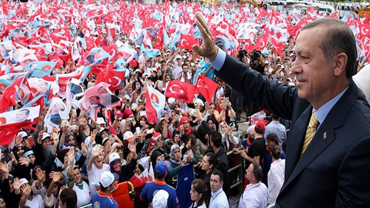 Cumhurbaşkanı Recep Tayyip Erdoğan 41 günde 44 ilde, 14 ilçede miting yaptı