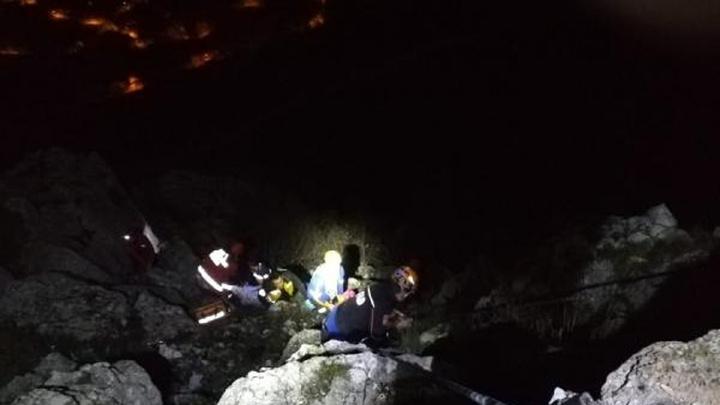 Amasya'da uçurumdan düşen genç kızın kalça kaburga ve burun kemikleri kırıldı