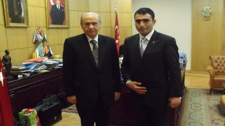 MHP Çıldır İlçe Başkanlığı'na Volkan Topkaya atandı