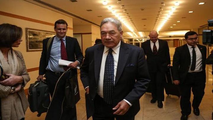 Yeni Zelanda Dışişleri Bakanı Winston Peters, İslam İşbirliği Teşkilatı'nın toplantısına katılmak üzere İstanbul'a geldi