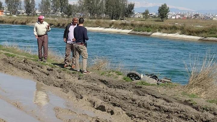 Adana'da sulama kanalına düşen baba hayatını kaybetti, oğlu kurtarıldı