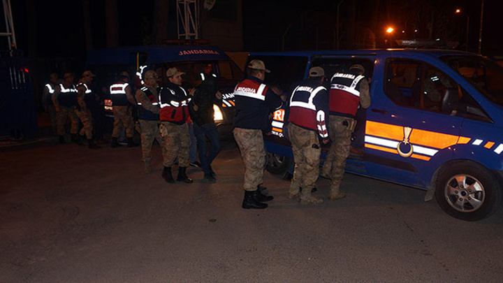 Kahramanmaraş'ta uygulama noktasında 33 kişi yakalandı