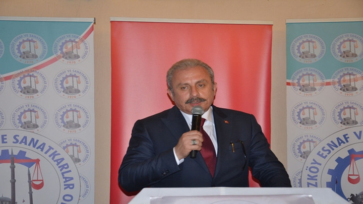 """TBMM Başkanı Mustafa Şentop: """"Üzerinden 52 yıl geçince Golan Tepelerini kazanmış mı oluyorsun"""""""