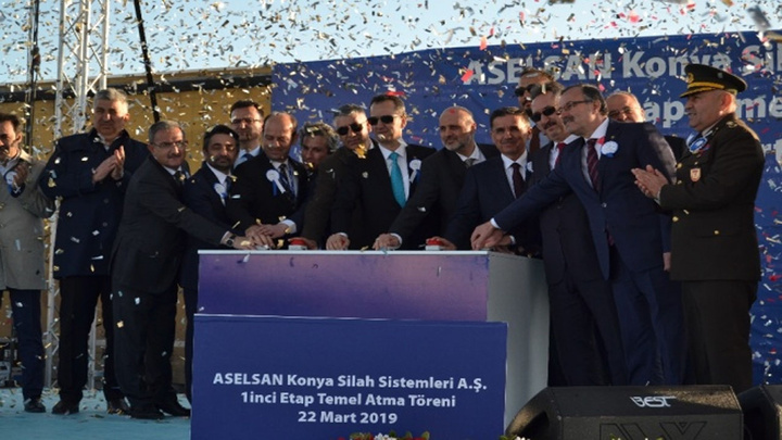 ASELSAN'ın yeni yatırım adresi Konya'da düğmeye basıldı