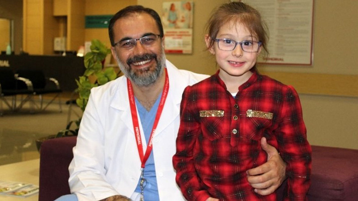 Isparta'da 6 buçuk yaşındaki Seher'in karaciğerindeki 3 farklı kitle alındı