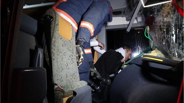 Düzce'de 3 aracın karıştığı zincirleme kaza meydana geldi: 1 yaralı