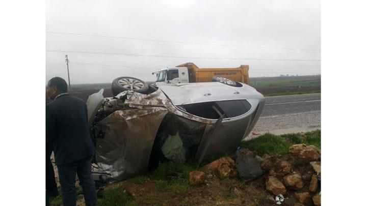 Şanlıurfa'da otomobillerin çarpıştığı kazada HDP'liAyşe Sürücü ve 5 kişi yaralandı