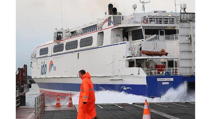 Marmara ve Ege'deki olumsuz hava koşulları nedeniyle BUDO ve İDO seferler iptal edildi