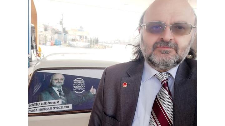 Bİlecik'te Saadet Partisi belediye başkan adayının mitingini 1 kişi dinledi
