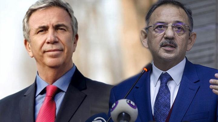 AK Partili Mehmet Özhaseki'nin sandığından rakibi CHP'li MAnsur Yavaş çıktı