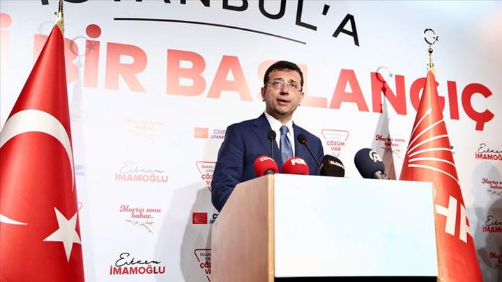 CHP'nin İstanbul adayı Ekrem İmamoğlu: Umuyorum en yakın zamanda kesin sonuç alınır