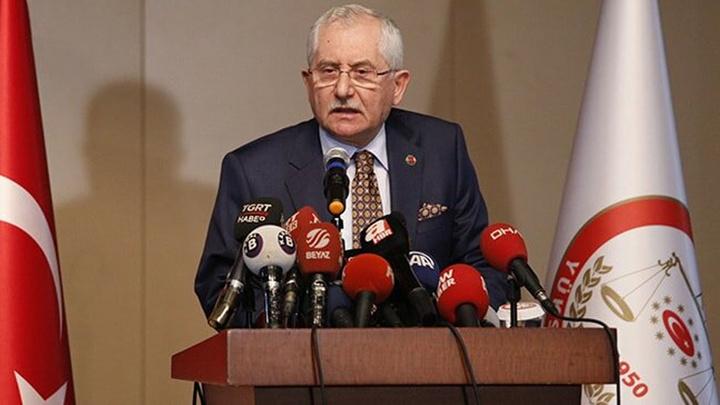 YSK Başkanı Sadi Güven : İstanbul'da 84 sandık itiraz nedeniyle sisteme taranmamış vaziyette