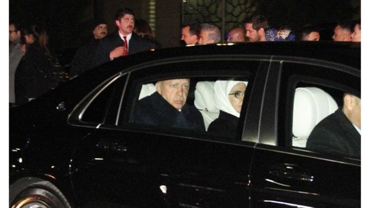 Cumhurbaşkanı Recep Tayyip Erdoğan Ankara'da
