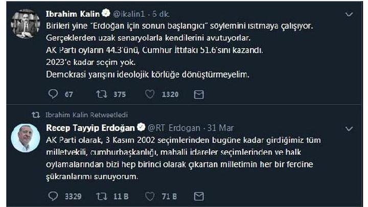 Cumhurbaşkanlığı Sözcüsü İbrahim Kalın: 2023'e kadar seçim yok