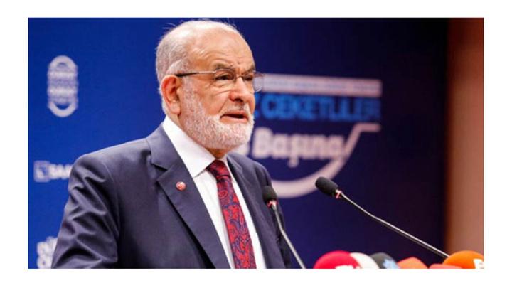 Saadet Partisi Lideri Temel Karamollaoğlu basın toplantısı düzenledi