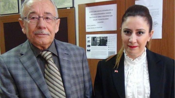 Aydın Efeler'de 30 yıllık muhtarın gelini de muhtar seçildi