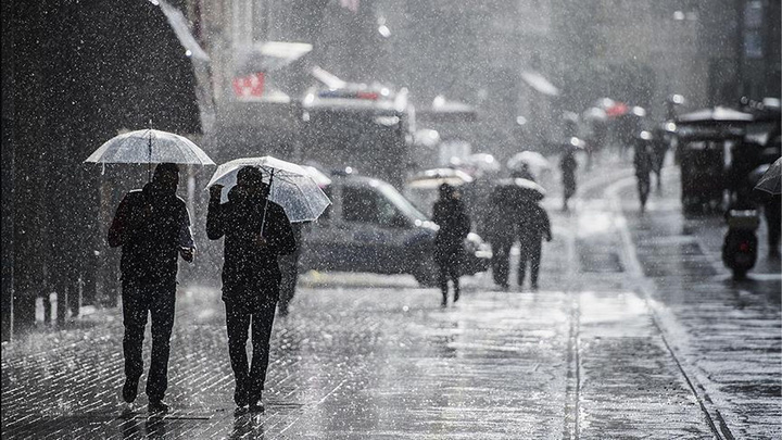 Meteoroloji'den Doğu Anadolu Bölgesi'ne  sağanak yağış uyarısı