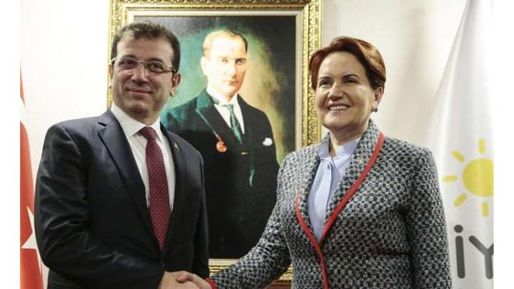 İYİ Parti Genel Başkanı Meral Akşener'den Ekrem İmamoğlu'na tebrik