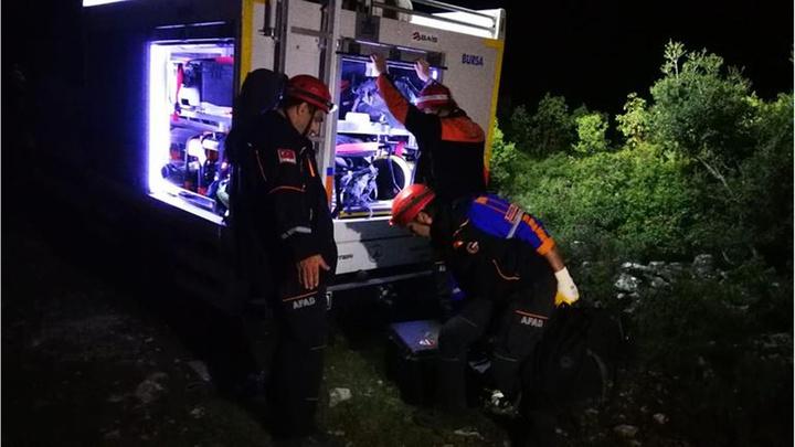 İznik'te define arayan 7 kişi mağarada mahsur kaldı: Jandarma, AFAD, 112 ve itfaiye ekipleri iş başında